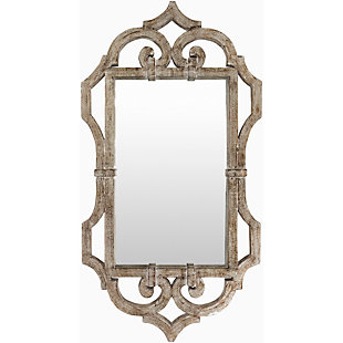 "Lalita Weather Wood 39.5"" x 21"" x 1.5"" Mirror, , large"