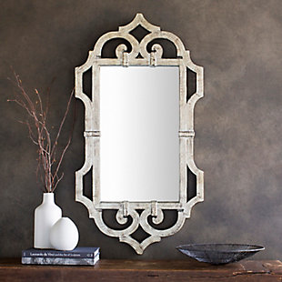 "Lalita Weather Wood 39.5"" x 21"" x 1.5"" Mirror, , rollover"