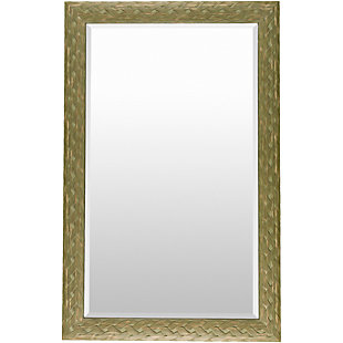 "Greenhorn Braided Edge 47"" x 30"" Mirror, , rollover"