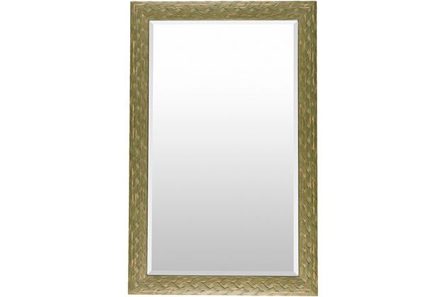 "Greenhorn Braided Edge 47"" x 30"" Mirror, , large"