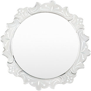 "Westminister Glass Frame 19.7"" x 19.7"" Mirror, , large"