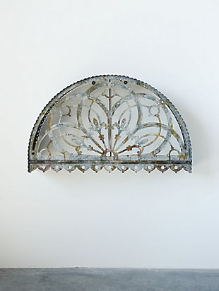 Creative Co-Op Large Decorative Metal Cutout Canopy Wall Decor, , rollover