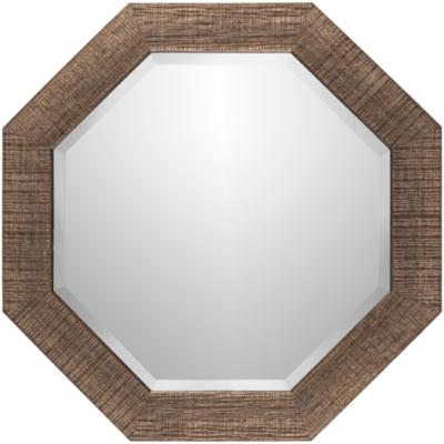 """Gateway Crosshatch Desgn 24"""" x 24"""" Mirror, , large"""