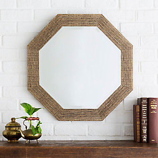 "Gateway Crosshatch Desgn 24"" x 24"" Mirror, , large"