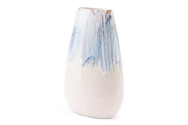 Ombre Medium Contemporary Vase, , large