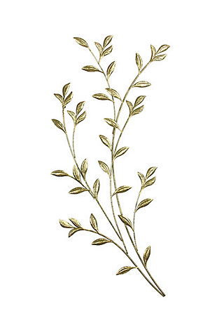 Saba  Gold Leafy Boughs Wall Art, , large