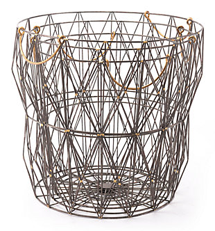 Wired Modern Basket (Set of 3), , large