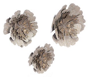 Ipsy Inspired Wall Flowers (Set of 3), , large