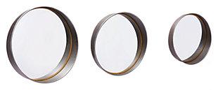 Circulo Circa Round Mirrors (Set of 3), , large