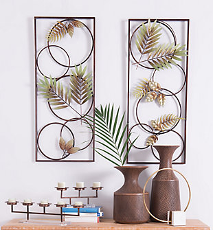Recife Tropical Flair Wall Panels (Set of 2), , rollover