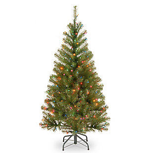 4 ft. Aspen Spruce Tree with Multicolor Lights, , large