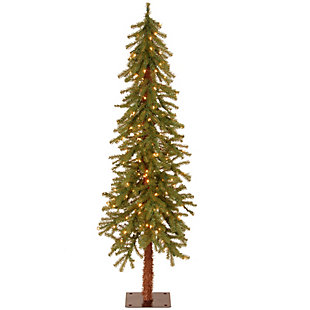 5 ft. Hickory Cedar Tree with Clear Lights, , large