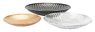 Home Accents Shallow Bowls (Set of 3), , rollover