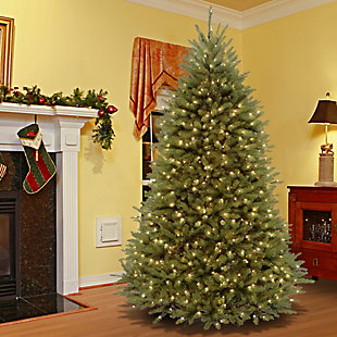 6.5 ft. PowerConnect Dunhill Fir Tree with Clear Lights, , rollover