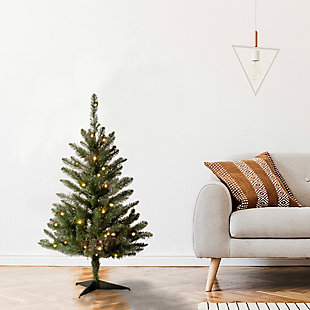 3 ft. Kingswood Fir Tree with Clear Lights, , rollover