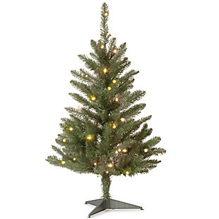 3 ft. Kingswood Fir Tree with Clear Lights, , large