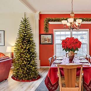 6 ft. Kingswood Fir Pencil Tree with Clear Lights, , rollover