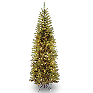 6 ft. Kingswood Fir Pencil Tree with Clear Lights, , large