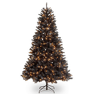 6.5 ft. North Valley Black Spruce Tree with Clear Lights, , large