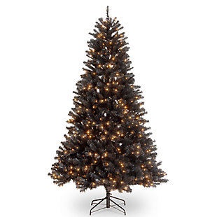7 ft. North Valley Black Spruce Tree with Clear Lights, , large