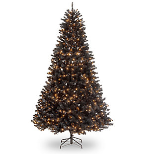 9 ft. North Valley Black Spruce Tree with Clear Lights, , large