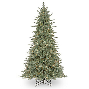 7.5 ft. Buckingham Blue Spruce Tree with Clear Lights, , large