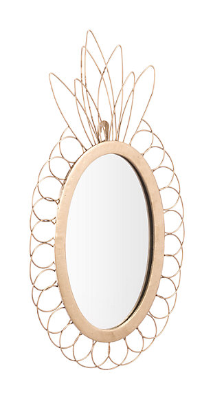 Tropical Pineapple Mirror, , large