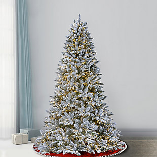 7.5 ft. Iceland Fir Tree with Clear Lights, , rollover