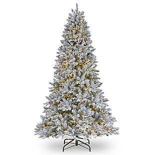 7.5 ft. Iceland Fir Tree with Clear Lights, , large