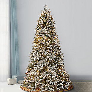 7.5 ft. PowerConnect Iceland Fir Tree with Dual Color LED Lights, , rollover