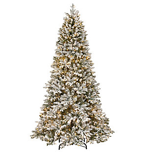 7.5 ft. PowerConnect Iceland Fir Tree with Dual Color LED Lights, , large