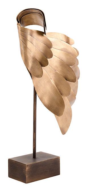 Steel Wings Sculpture, , large