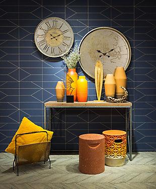 Anteek Hora Wall Clock, , large