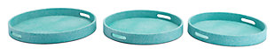 Catania Lizard Skin Tray (Set of 3), , large