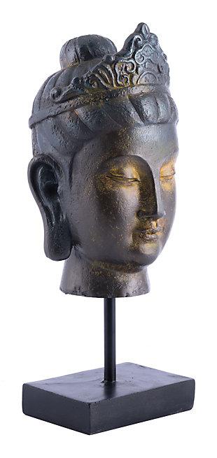 Miral Buddha in Pedestal, , large
