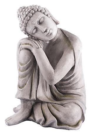 Miral Thinking Buddha Sculpture, , large