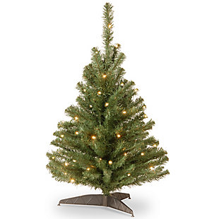 3 ft. Kincaid Spruce Tree with Clear Lights, , large