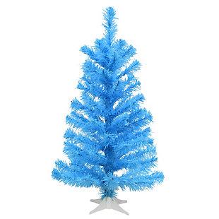 2 ft. Light Blue Color Tree Decoration, , large