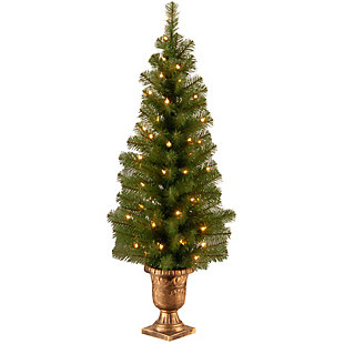 4 ft. Montclair Spruce Entrance Tree with Clear Lights, , large