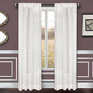 "Benson 84"" Eyelet Panel Curtain, , large"