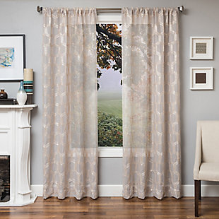 "Rochelle 84"" Sheer Panel Curtain, , rollover"