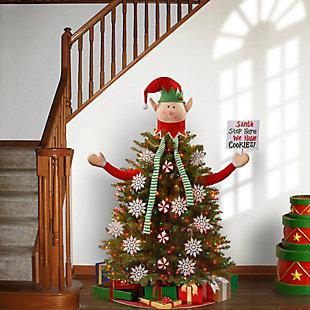 Santa's Elf Tree Dress Up Kit, , rollover
