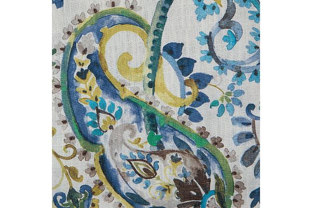 "Carlo 84"" Paisley Panel Curtain, , large"