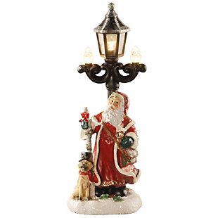 """15"""" Santa and Lamppost, , large"""