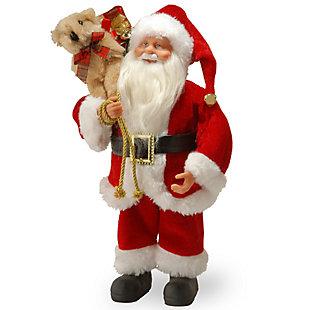 12 in. Standing Santa, , large