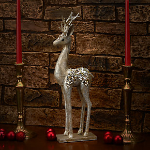 "20"" Reindeer Decor Piece, , rollover"