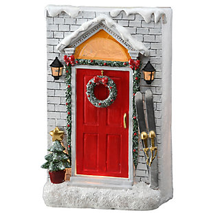 """10"""" Holiday Door Front, , large"""