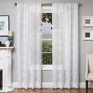 """Connor 84"""" Sheer Panel Curtain, , large"""