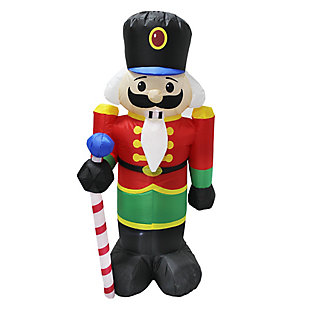 4 ft. Inflatable Holiday Nutcracker, , large