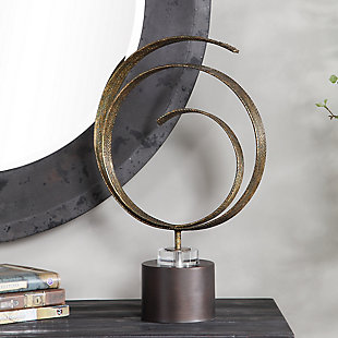 Uttermost Elio Copper Patina Sculpture, , rollover